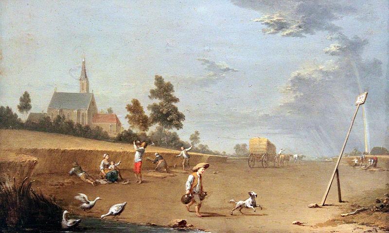 Norbert Grund: Die Ernte (1750)