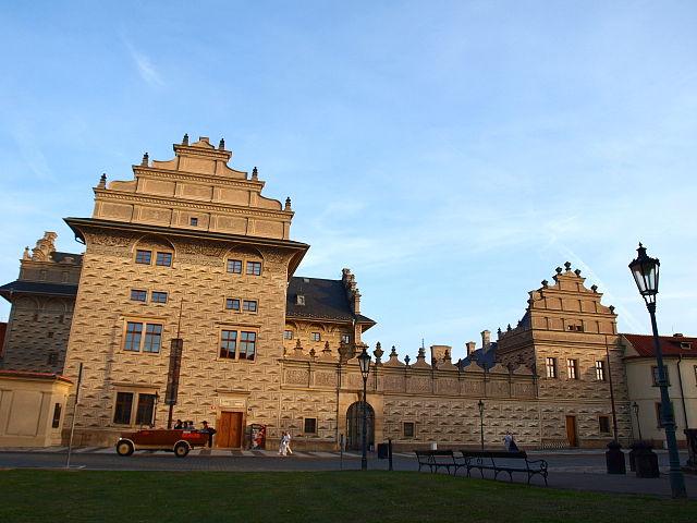 Schwarzenberg-Palais am Hradschiner Platz