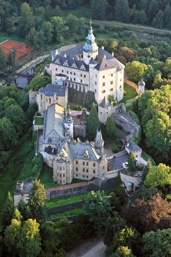 Schloss Frýdlant nahe Liberec