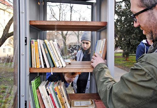 Öffentliche Bibliothek im Herold-Park