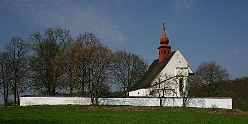 """In der Kapelle nahe der Burg Veveři wurde die """"Madonna von Eichhorn"""" etwa ab 1700 aufbewahrt."""