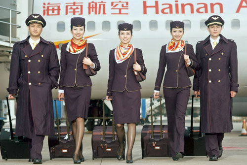 Seit Herbst 2015 bietet Hainan Airlines Direktflüge zwischen Prag und Peking an.