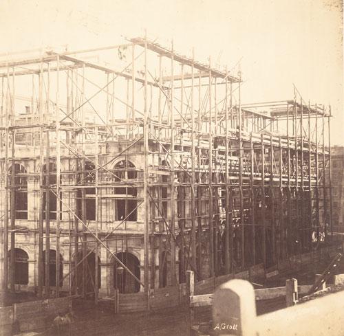 Bau der Wiener Staatsoper, 1865
