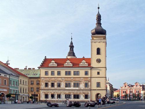 Rathaus im historischen Zentrum
