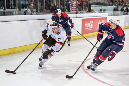 NHL-Star Leon Draisaitl ist derzeit wohl der beste deutsche Eishockeyspieler.