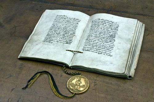 Die Goldene Bulle gehört seit 2013 zum Weltdokumentenerbe der Unesco.