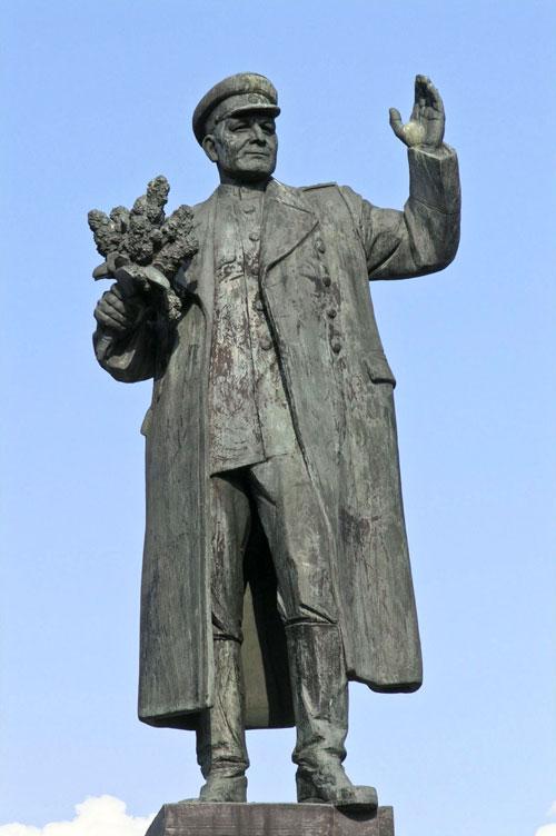 Konew-Statue in Bubeneč