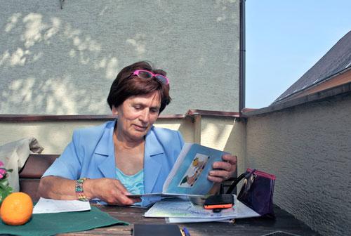 Marie Šupová interessiert sich für Freud und Folklore.