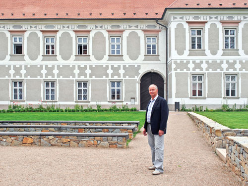 Bürgermeister Bohuslav Majer