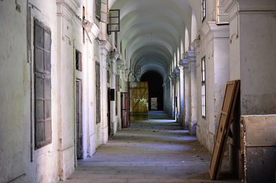 Im Inneren der Invalidovna