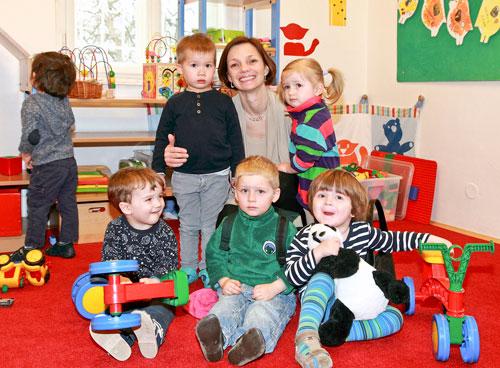 Markéta Frank ist Mitgründerin des Kindergartens.
