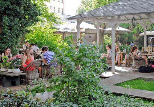 Oase der Ruhe am Wenzelsplatz: Styl & Interier