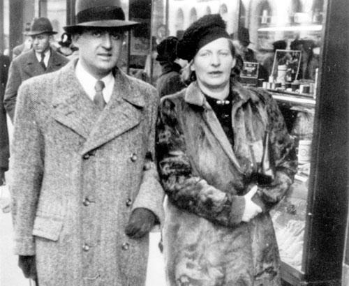 In Berlin lernte sie Hans Werner Goldlust kennen.