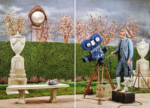 """""""Actor/Director 1954, 2013"""" von Rodney Graham    Foto: Graham/Hauser & Wirth"""