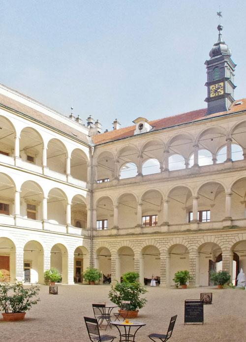 Schloss Litomyšl gehört zum Welterbe.
