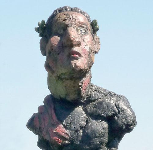 Lüpertz' Beethoven-Skulptur in Bonn