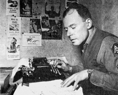 Klaus Mann 1944 in Italien
