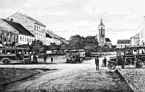 Im ostböhmischen Ort Proseč war die Familie willkommen, aber auch dort war sie nicht zuhause.