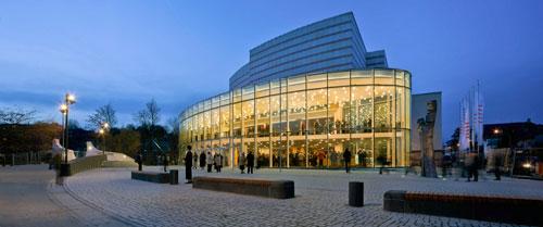 Der Konzertsaal ist einer der besten in Bayern.