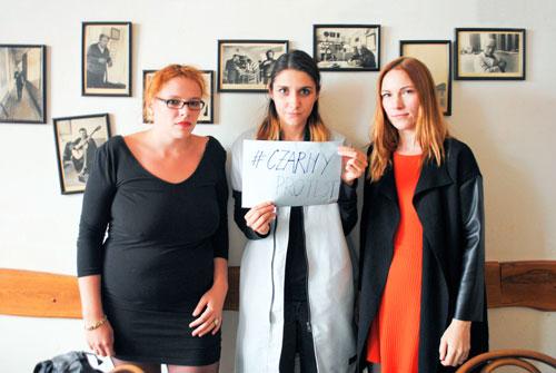 Heda Čepelová, Lydie Franka Bartošová und Apolena Rychlíková