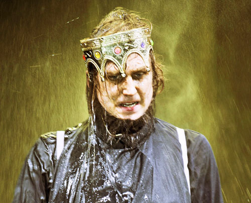 Lars Eidinger ist in der Rolle des Hamlet zu sehen.