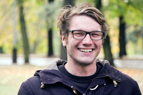Jeník Tyl hat ein gewinnendes Lächeln und eine bipolare Störung
