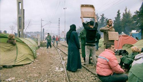 """Die Realität der Flüchtlingskrise zeigt """"Gespenster wandeln durch Europa""""."""