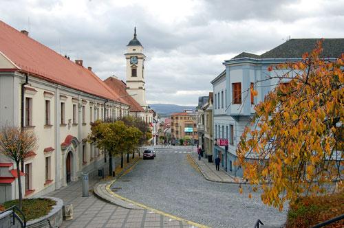 Im Zentrum von Uherský Brod