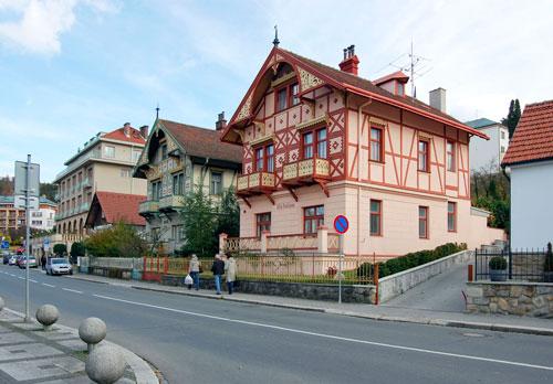 Im Kurort Luhačovice lässt es sich gut leben, finden die Einheimischen.