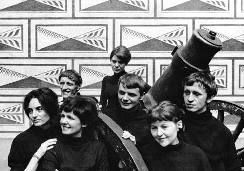 """Bedřich Hányš und Dana Bufková waren 1967 Mitgründer der Gruppe """"Velvets""""."""