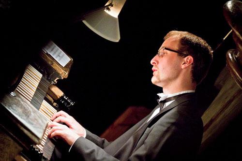 Pavel Svoboda spielt am liebsten Bach.