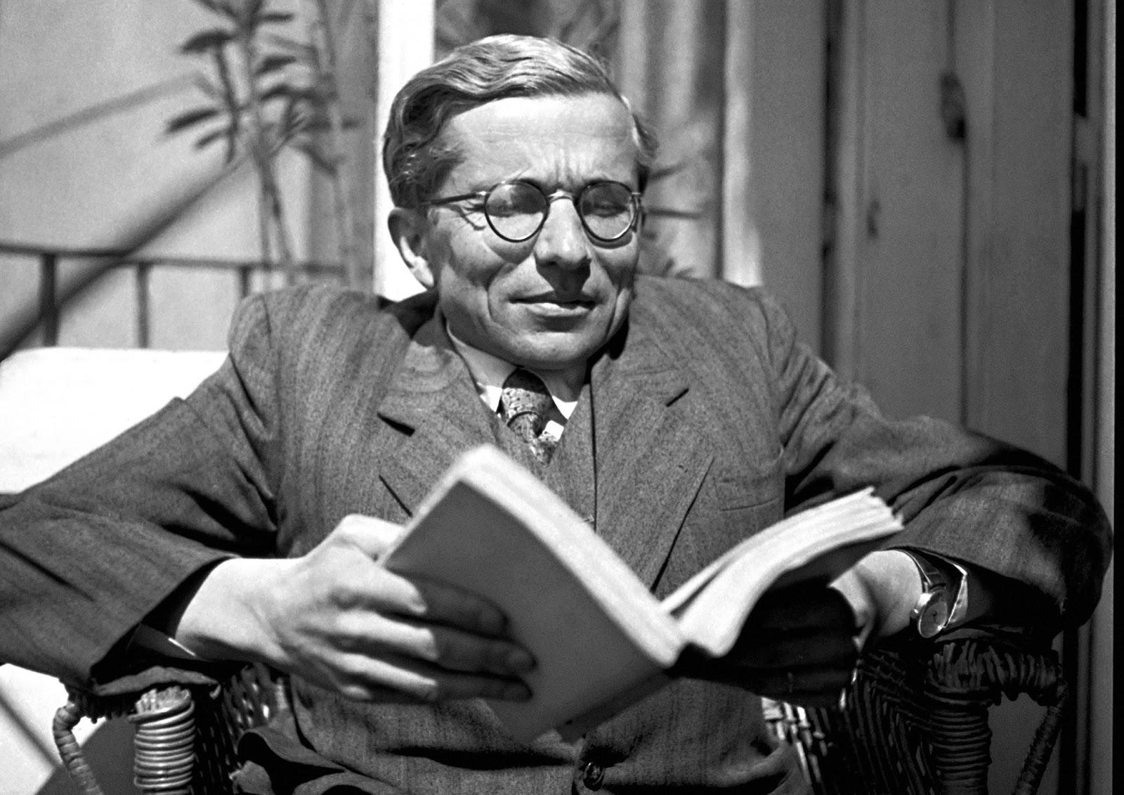 Jan Zahradníček 1947 in Brünn. Als Repräsentant des Katholizismus war der Dichter staatlichen Repressionen ausgesetzt. /  | © APZ