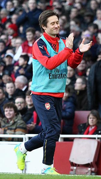 Rosický vor einem seiner letzten Einsätze für Arsenal London im Januar 2016  | © CC BY 2.0, joshjdss