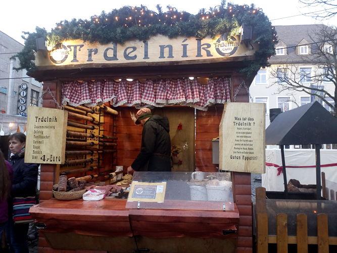 Trdelník-Stand in Schweinfurt    | © khan