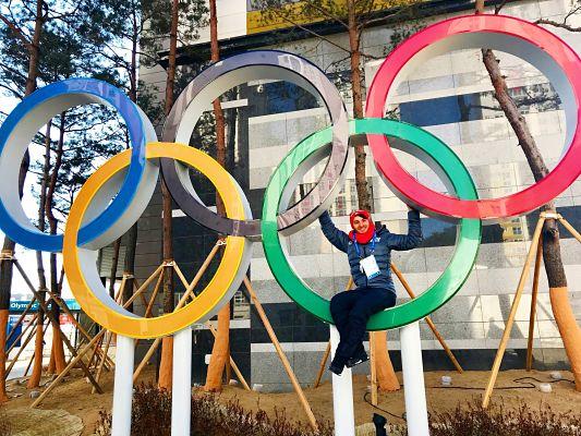 Ziel erreicht: Joti Polizoakis in Pyeongchang