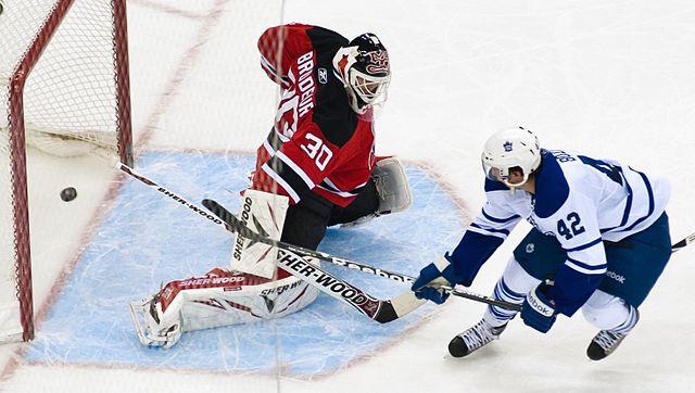 Szene aus einem NHL-Spiel zwischen den Toronto Maple Leafs und den New Jersey Devils im April 2011  | © James DiBianco, CC BY-SA 2.0
