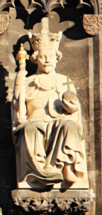 Statue Wenzels IV. (Altstädter Brückenturm)