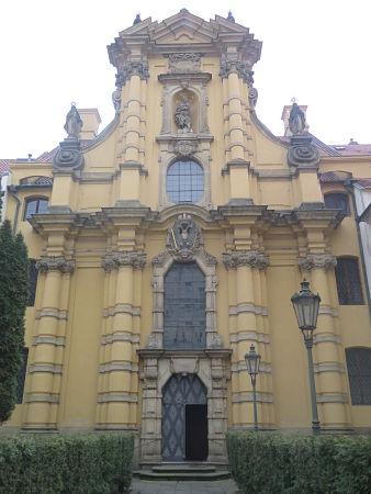 Westfront der Josefskirche, erbaut 1687-1693