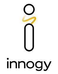 Logo von Innogy. Die Tochtergesellschaft des deutschen Energieversorgers RWE beschäftigte Ende 2016 über 40.000 Mitarbeiter in 16 europäischen Ländern.