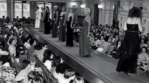 Úbok-Modenschau in Prag in der achtziger Jahren  | © APZ